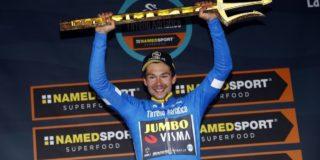 Tirreno-Adriatico telt dit jaar acht (in plaats van zeven) etappes