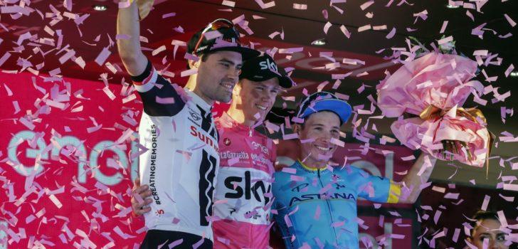 Giro 2019: Alle deelnemers en rugnummers