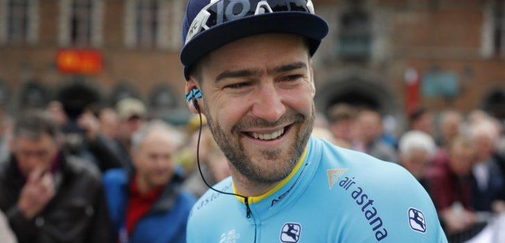 """Laurens De Vreese langer bij Astana: """"Gevoel van een grote familie"""""""