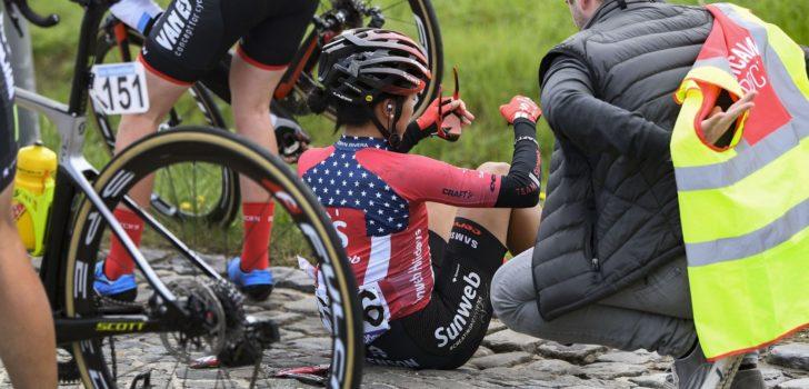 """Elleboogblessure Rivera na Ronde: """"Hopelijk is het niet te ernstig"""""""