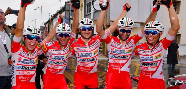 Androni Giocattoli-Sidermec wint opnieuw Ciclismo Cup