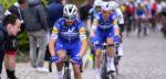 Alaphilippe en Gilbert goed omringd in de Amstel Gold Race