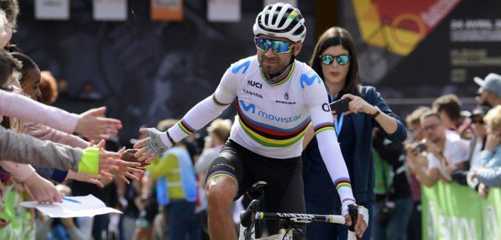 """Valverde over de Tour: """"Ik weet nog niet of ik zal starten"""""""