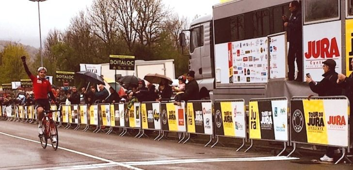 Kobe Goossens grijpt eindzege Tour du Jura
