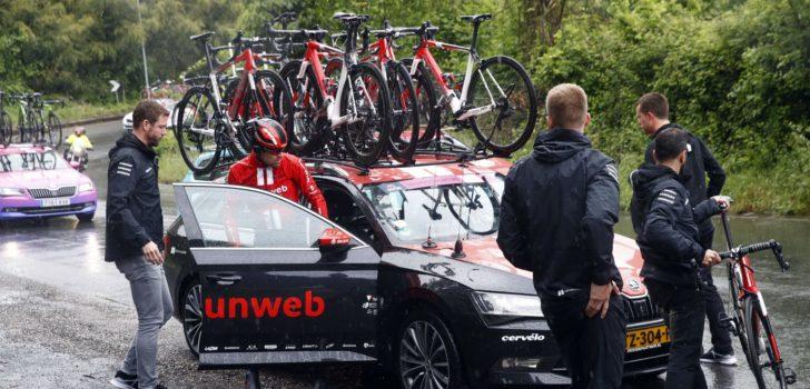 Giro 2019: Dumoulin stapt uit de wedstrijd