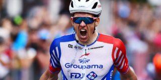 Arnaud Démare wint enerverende derde etappe in Slowakije
