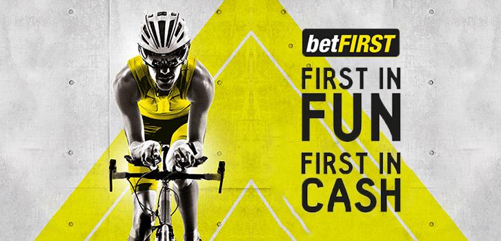 Betfirst deelt gratis weddenschappen uit tijdens de Giro d'Italia