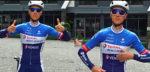 Niki Terpstra en ploegmaats deze week op ministage in de Oostkantons