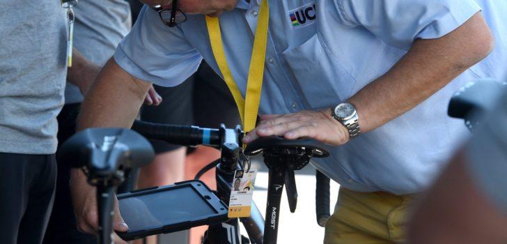 UCI blijft manieren ontwikkelen om mechanische doping op te sporen