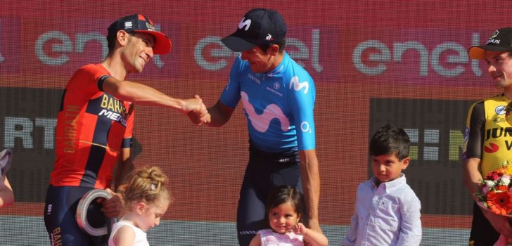 """Nibali: """"Ik heb geen spijt van mijn Giro"""""""