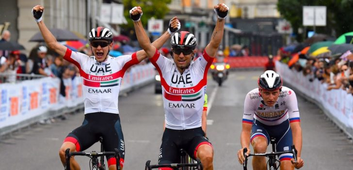 Ulissi rondt dominantie UAE Emirates af in GP Lugano