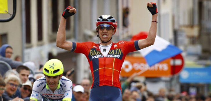 Dubbelslag Dylan Teuns na vermakelijke tweede etappe Dauphiné