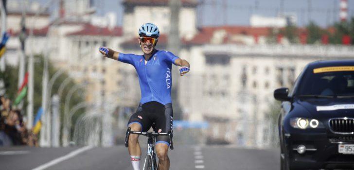 Davide Ballerini wint goud in wegrit Europese Spelen