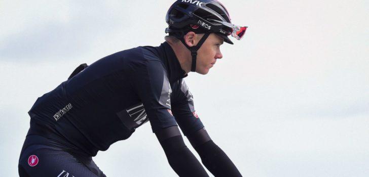 Geen Tour voor Froome na val in aanloop naar tijdrit Dauphiné
