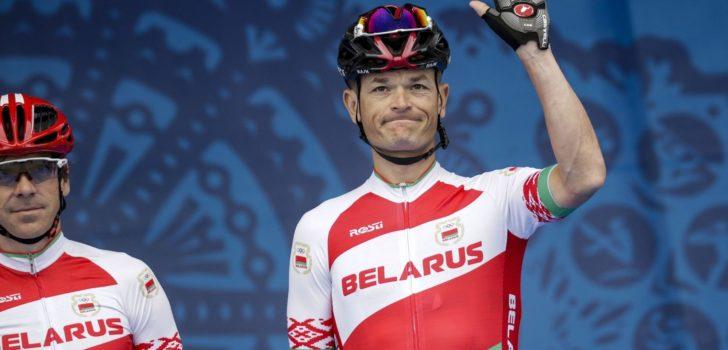 Vasil Kiryienka (38) zet per direct punt achter zijn carrière