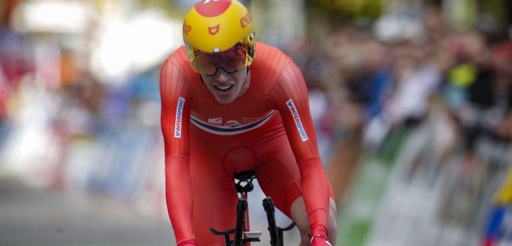 Ilan Van Wilder wint brons op EK tijdrijden voor beloften, goud voor Leknessund