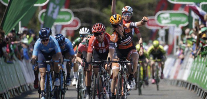 Pieters de snelste in slotrit OVO Energy Women's Tour, eindzege is voor Deignan