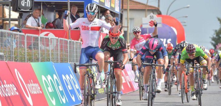 Wederom Britse zege in Giro d'Italia U23: Matthew Walls is de snelste in Pescia