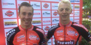 Geen Ronde van België door breuk in hand Laurens Sweeck