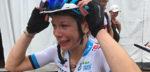 Mieke Dockx wint de prijs voor de meest emotionele reactie na het BK dames