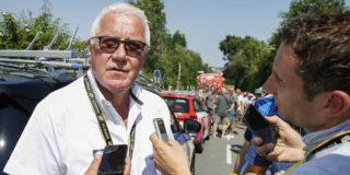 """Patrick Lefevere hekelt geitenpaden in Tour de France: """"Ik vind het potsierlijk"""""""