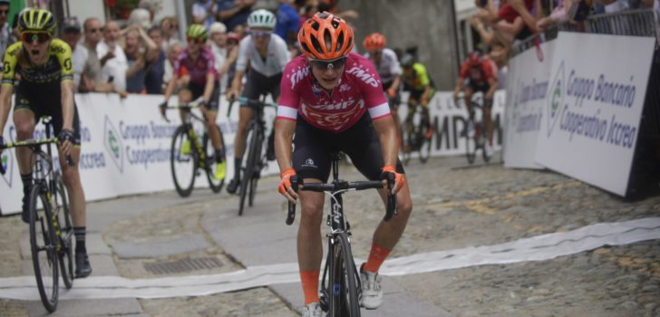 Marianne Vos jumpt in extremis naar tweede ritwinst in Giro Rosa