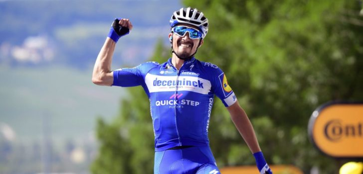 Julian Alaphilippe valt in de prijzen na succesvol seizoen