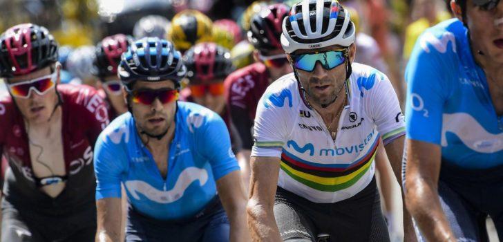 Valverde en Landa voeren Movistar aan in San Sebastián