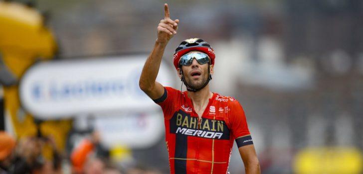 """Vincenzo Nibali pakt uit in Val Thorens: """"Dit is een mooie revanche"""""""