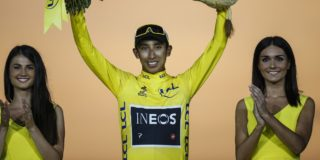 Egan Bernal mikt in 2022 op Tour de France