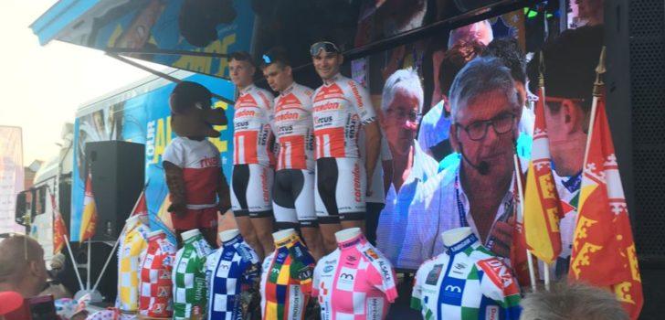 Corendon-Circus wint ploegproloog Tour Alsace, Vermeersch leidt