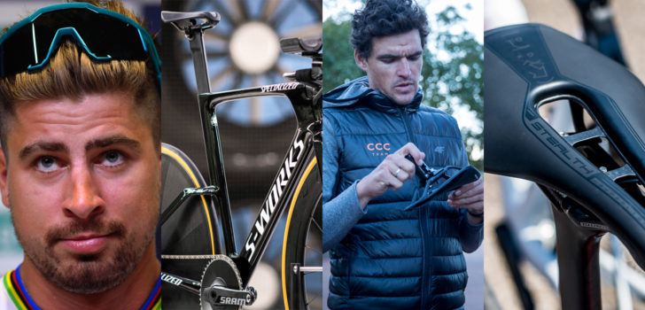Nieuw in de Tour: 100%, Specialized, Cube, Scott, Giant, PRO