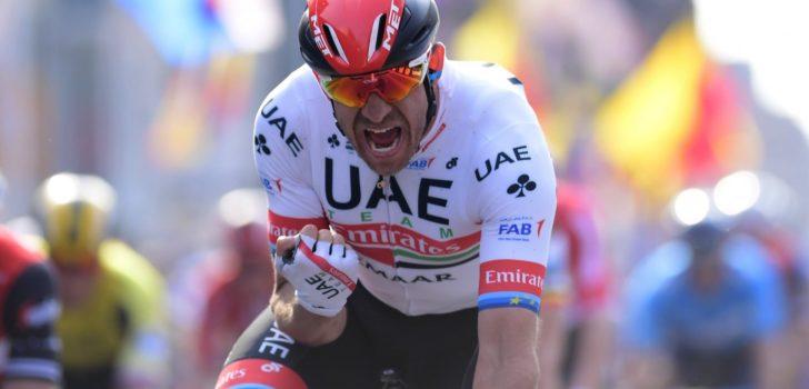 Kristoff te sterk voor Mørkøv en Viviani in ochtendrit Ronde van Slowakije