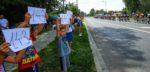 Pools OM: Bjorg Lambrecht verloor controle door reflector