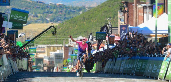 Dombrowski soleert naar ritwinst in Tour of Utah, Hermans pakt eindzege