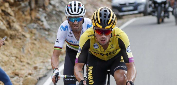 """Roglic over Vuelta-deelname: """"Alles is mogelijk, maar focus me eerst op de Tour"""""""