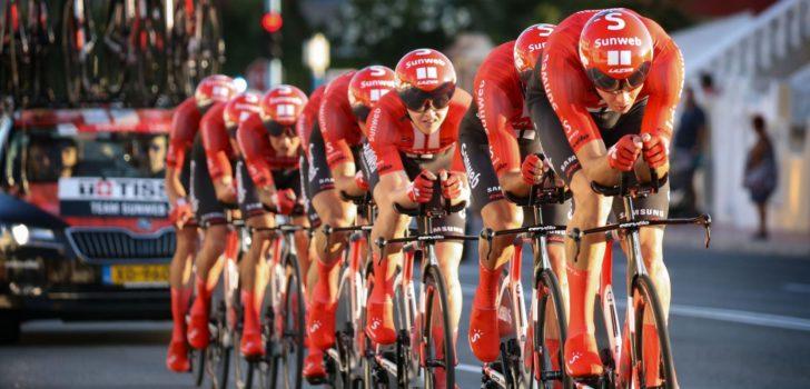 Volg hier de inleidende ploegentijdrit van de Czech Cycling Tour 2020