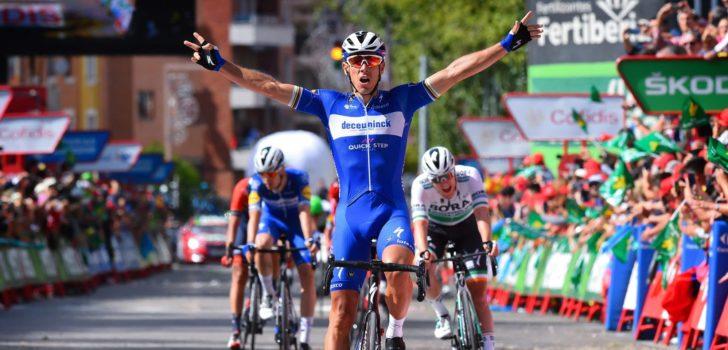 Vuelta 2019: Philippe Gilbert wint turbulente waaieretappe