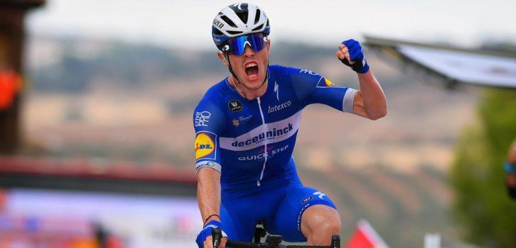 Vuelta 2019: Vluchter Cavagna blijft peloton voor in Toledo