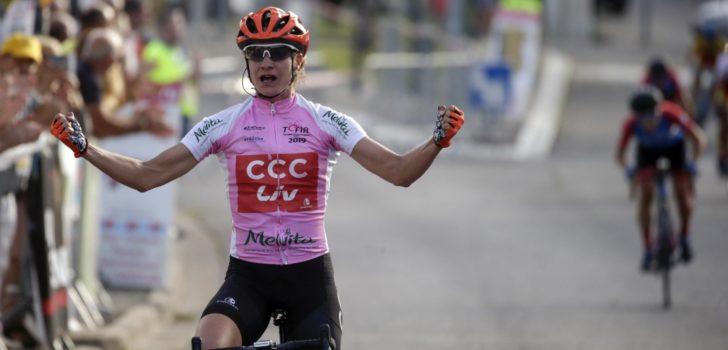 Drie op een rij voor Marianne Vos in Tour de l'Ardèche