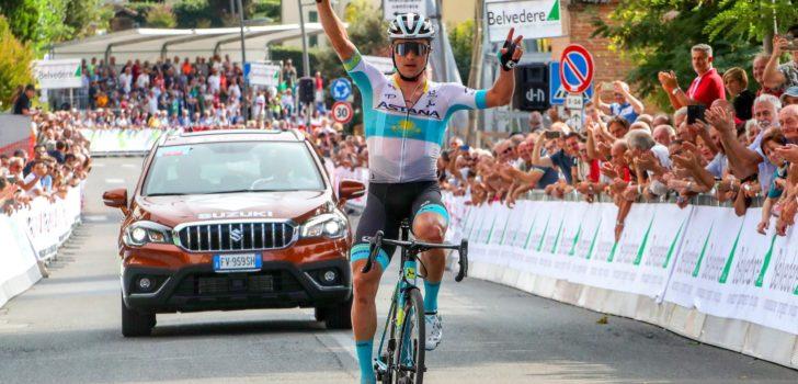 Imponerende Lutsenko geeft visitekaartje af in Coppa Sabatini