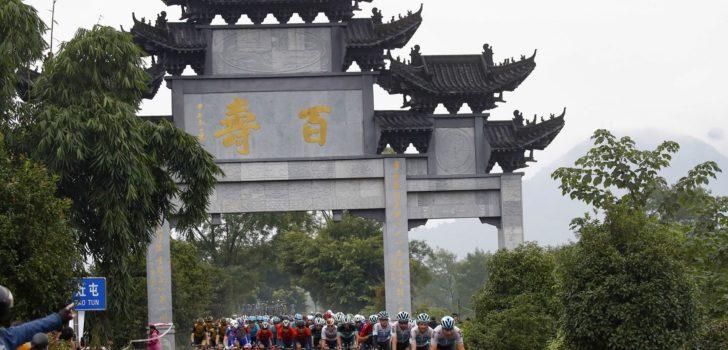 Titelverdediger Davidenok grijpt direct de macht in Tour of Fuzhou