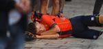 Mohoric zwaar gehavend na ongelukkige val in Kroatië