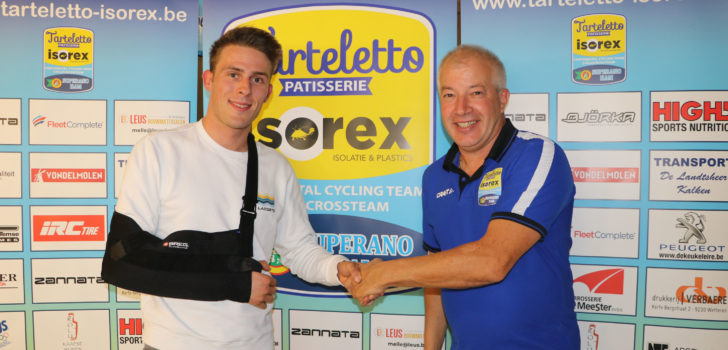 Enzo Wouters (Lotto Soudal) vindt onderdak bij Tarteletto-Isorex