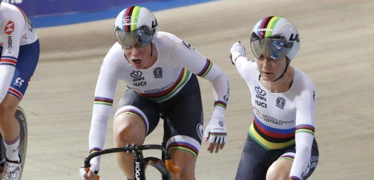 Bijrol Belgen op slotdag Wereldbeker baanwielrennen Glasgow