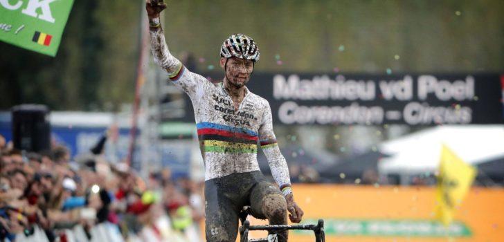 Mathieu van der Poel wint direct bij rentree in Ruddervoorde