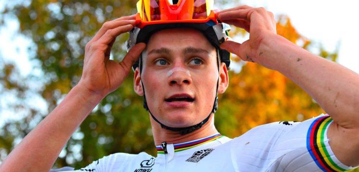 """Mathieu van der Poel zoekt nog het ritme van de cross: """"Ik had wel beter verwacht"""""""