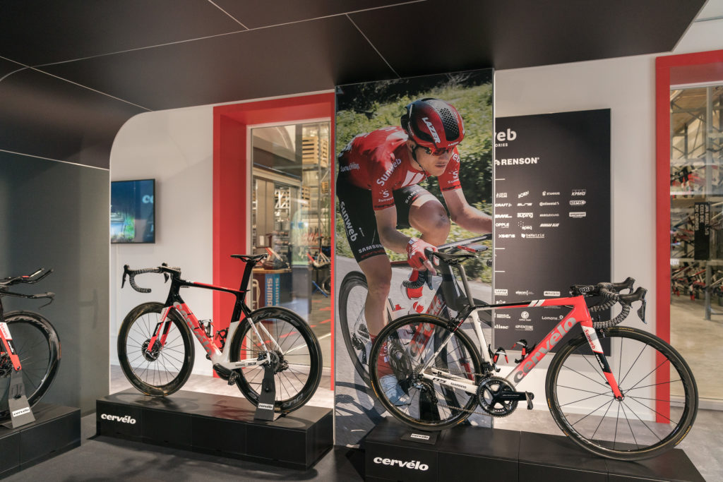 Team Sunweb Experience Center