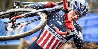 Katie Compton (42) test positief op anabole steroïden: einde carrière