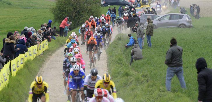 Kasseistrook Hameau du Buat na drie jaar terug in Parijs-Roubaix